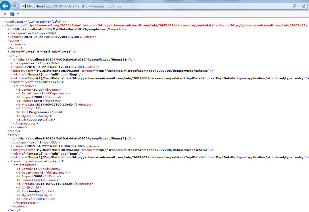 crud in sapui5 with odata and jpa running on hcp sap blogs