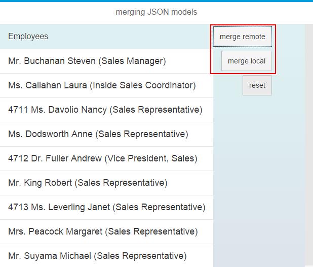 Merging JSON Models | SAP Blogs
