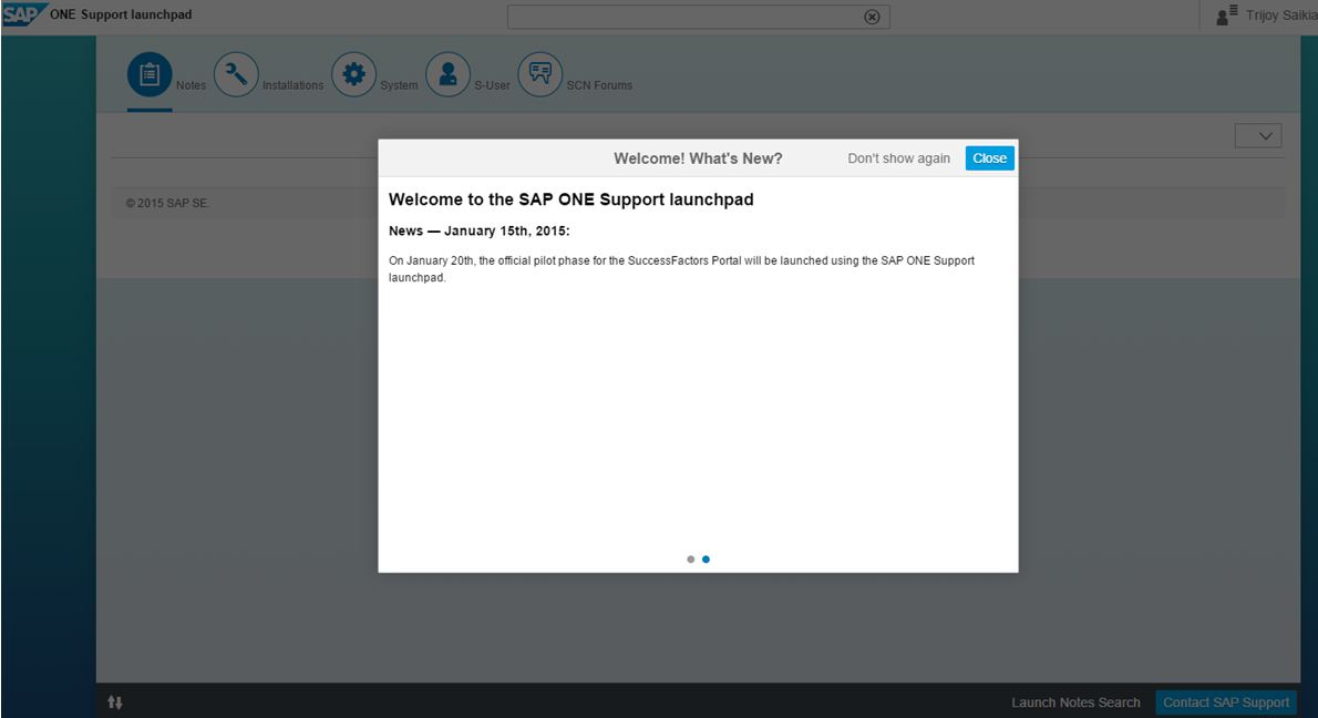 a new sap support � sap one support launchpad sap blogs
