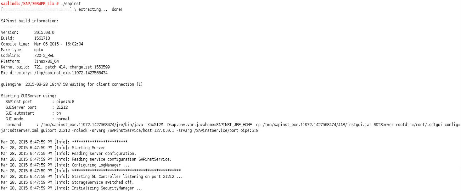 sap migration win maxdb win linux oracle db part 4 sap blogs