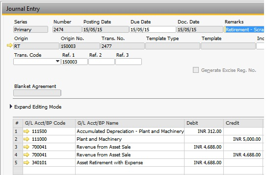 Fixed Assets in SAP Business One | SAP Blogs