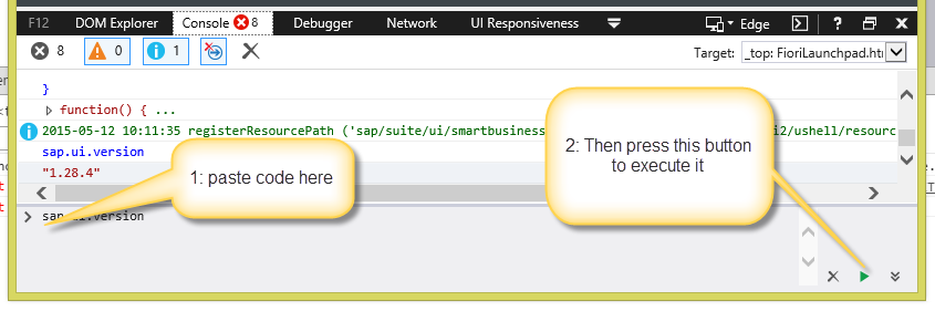 some debug tips for sapui5 application sap blogs