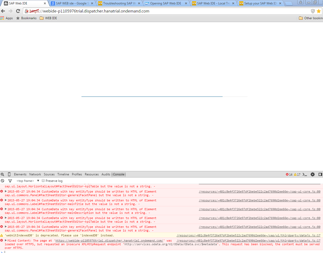 THE REQUEST FAILED WITH HTTP STATUS 502 HOST NOT FOUND