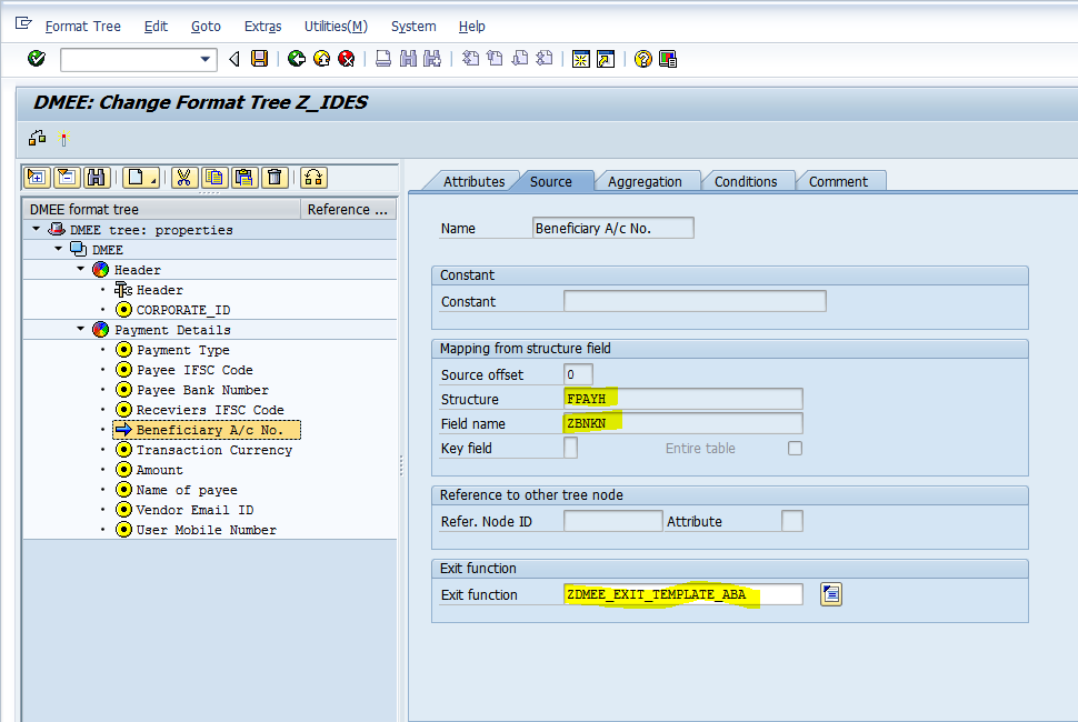 DMEE Configuration:Step By Step Part 1 | SAP Blogs