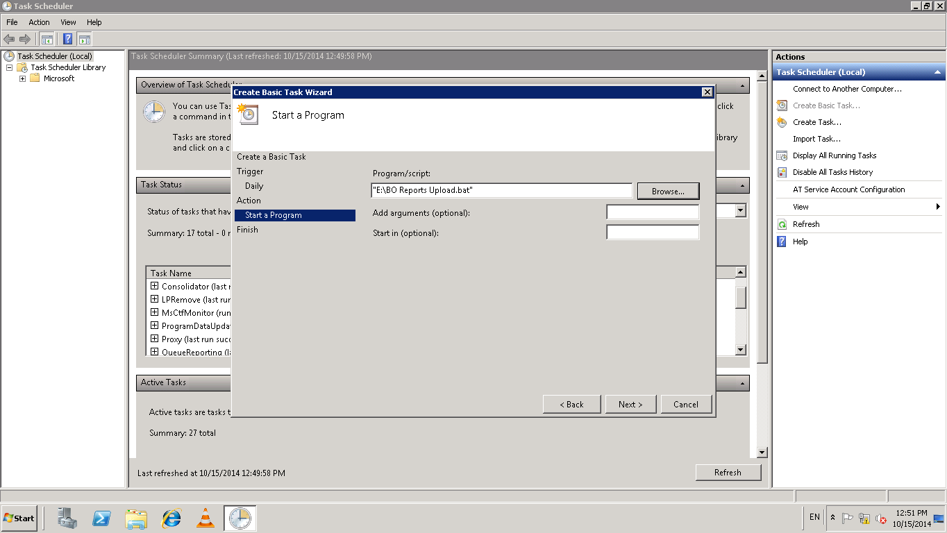 Scheduling WEBI Report output to FTP shared file location