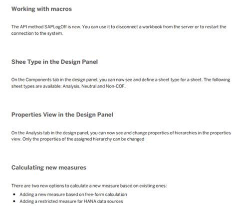 sap analysis for office pdf