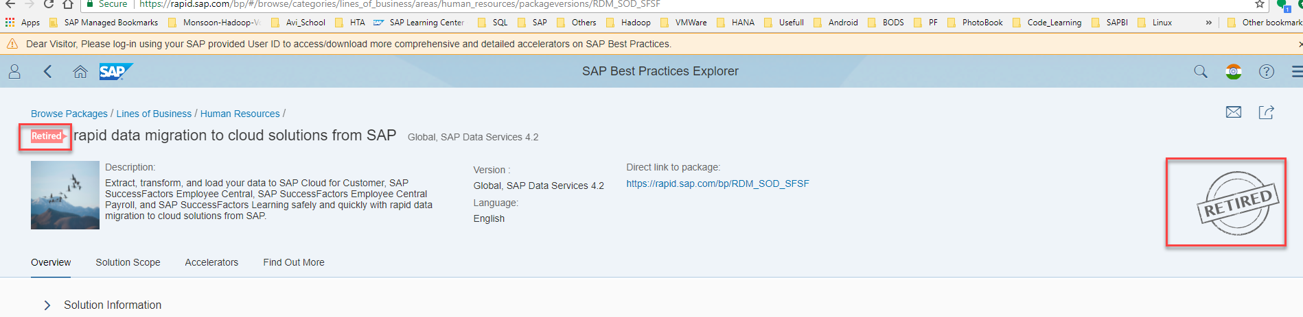SAP ERP to SuccessFactors Employee Central data migration