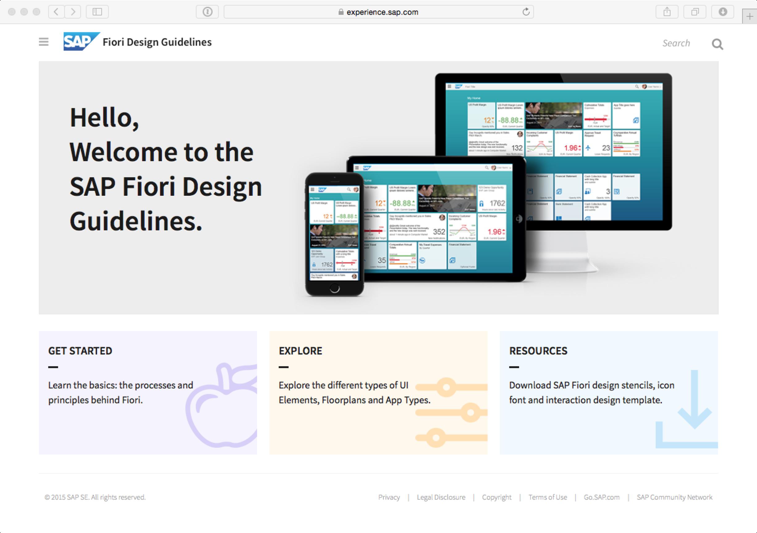 prototyping sap fiori applications | sap blogs, Presentation templates