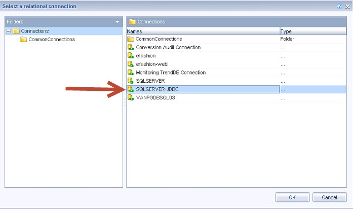 FHSQL New Relational SQLServer JDBC Connection .jpg