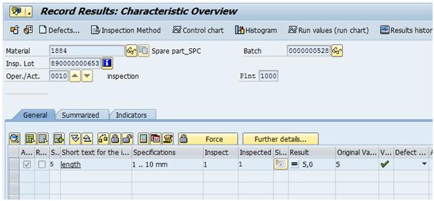 Control charts in SAP QM | SAP Blogs