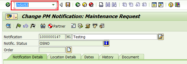 missing authorization code in sap