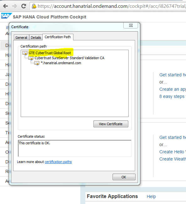 Using SAP SQL Anywhere with the SAP HANA Cloud Platform for the