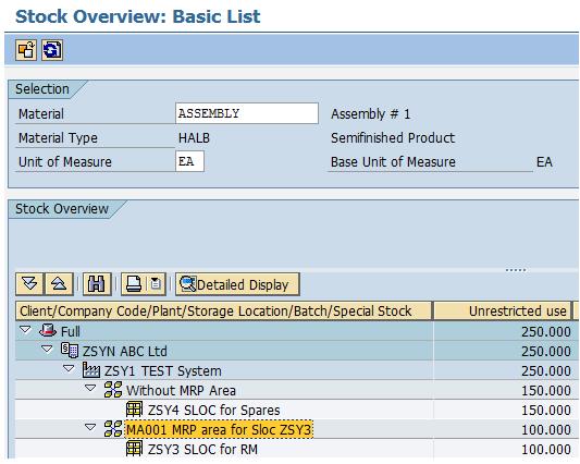 Basics of MRP Area   SAP Blogs