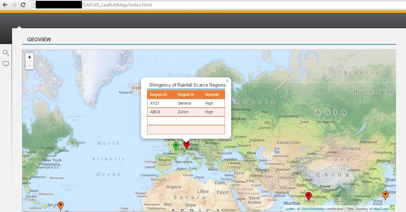 Adding Intelligence to GeoMap (Integration with Leaflet GeoMap