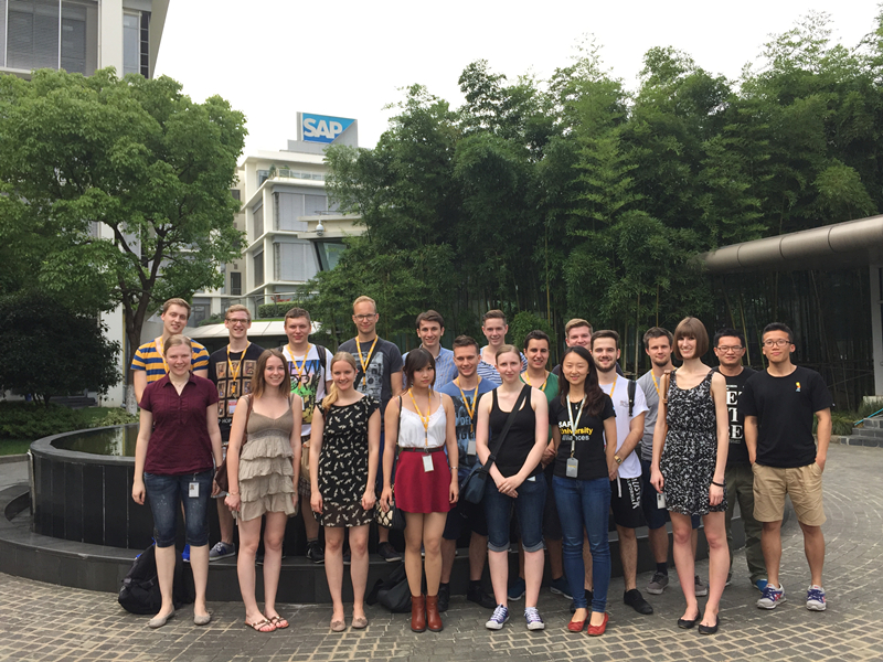 sap labs china_SAP Open Day for German VT, Shanghai, China, 27th July, 2015 | SAP Blogs
