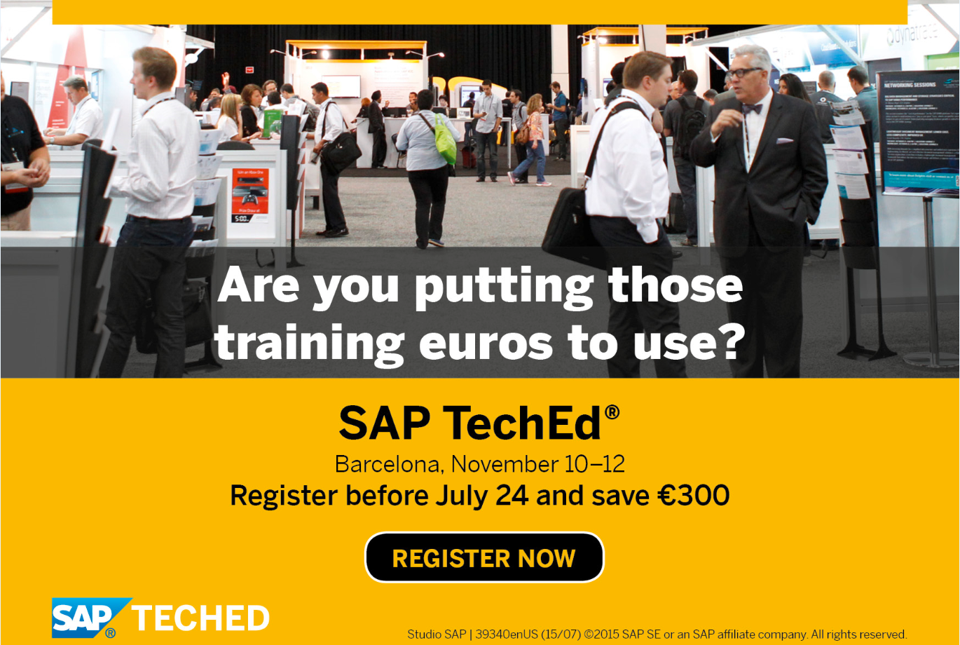 Early Bird Reminder SAP TechEd Barcelona.PNG