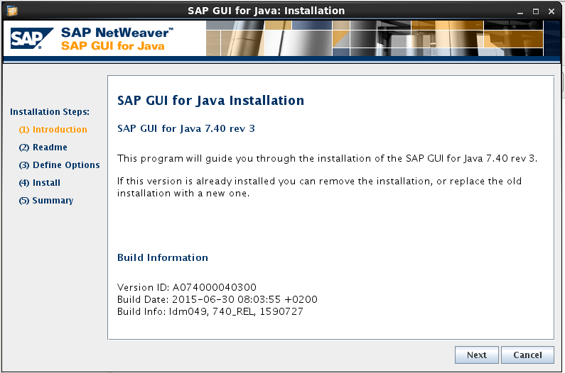 SAP GUI for JAVA installation and configuration | SAP Blogs