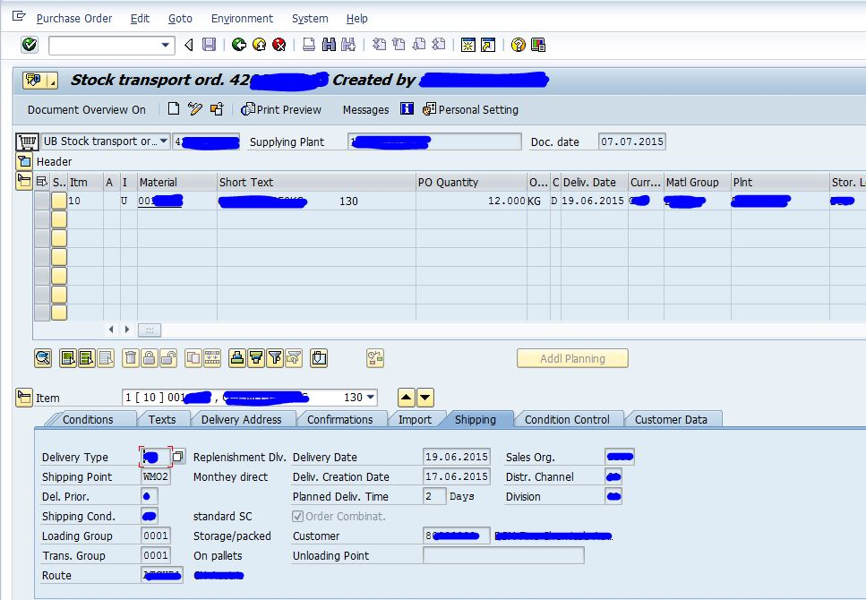 debug vl10b outbound delivery creation from po in background mode sap blogs sap blogs