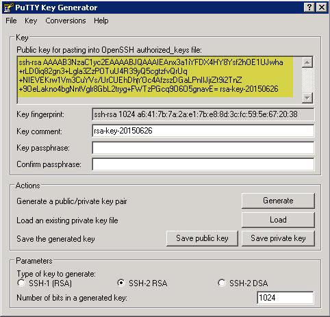 Fingerprints for SFTP Destinations in SAP BusinessObjects BI