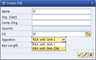 Use of SHA-2 algorithm family in SSL PSEs | SAP Blogs