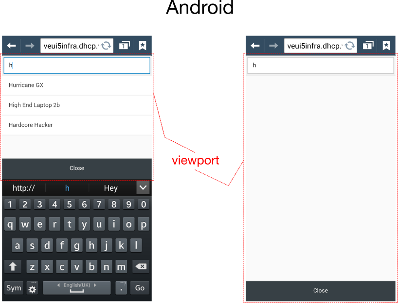 Virtual keyboard in iOS vs Android phones | SAP Blogs