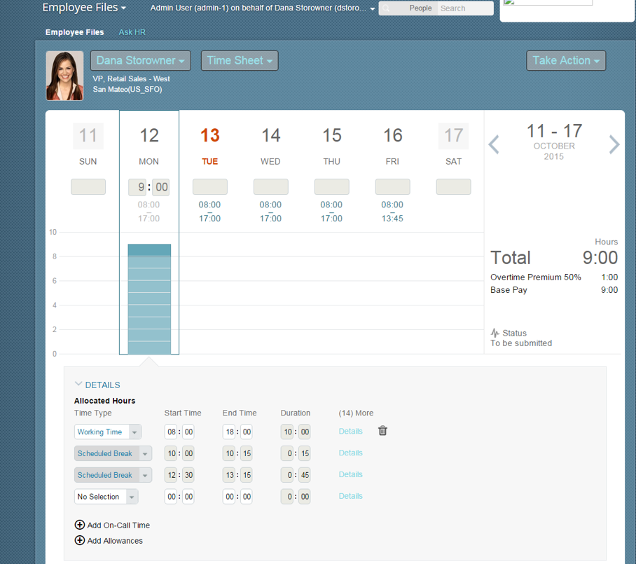 successfactors ec time sheet and time off new features sap blogs