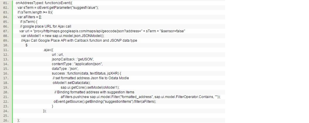 Autocomplete formatted address via Google Places API | SAP Blogs