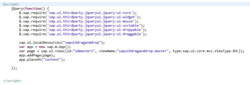 how to use drag and drop to sort a sapui5 list sap blogs