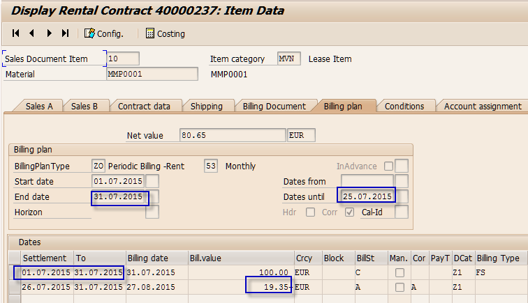 Billing Plan (Periodic)-SAP SD-Part1 | SAP Blogs