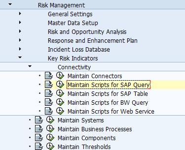 Key Risk Indicators in Risk-Risk Management GRCV10.0   SAP Blogs