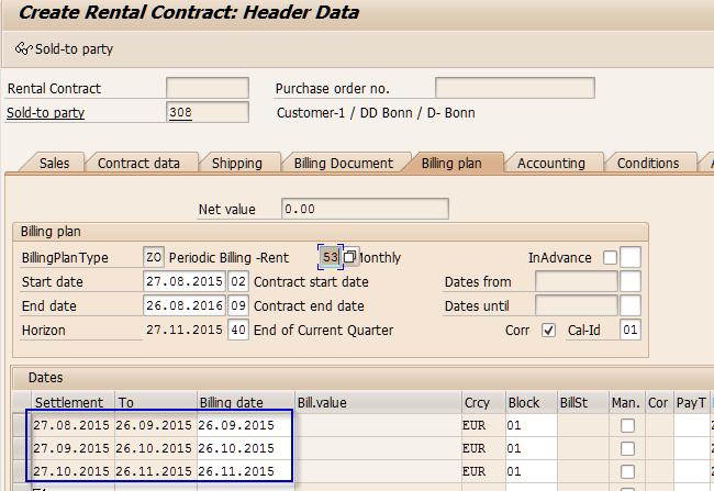 Billing Plan (Periodic)-SAP SD-Part1 | SAP Blogs