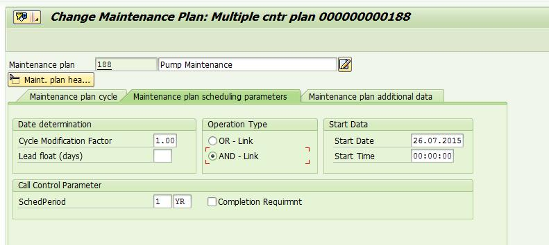 Book scheduling maintenance and planning