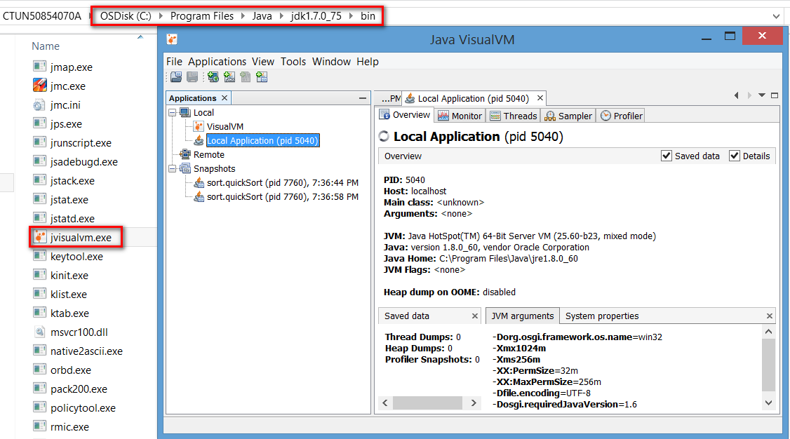 Step by Step to use VisualVM to do performance measurement