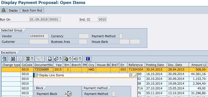 Partial Payment for invoice via Automatic Payment Program ...