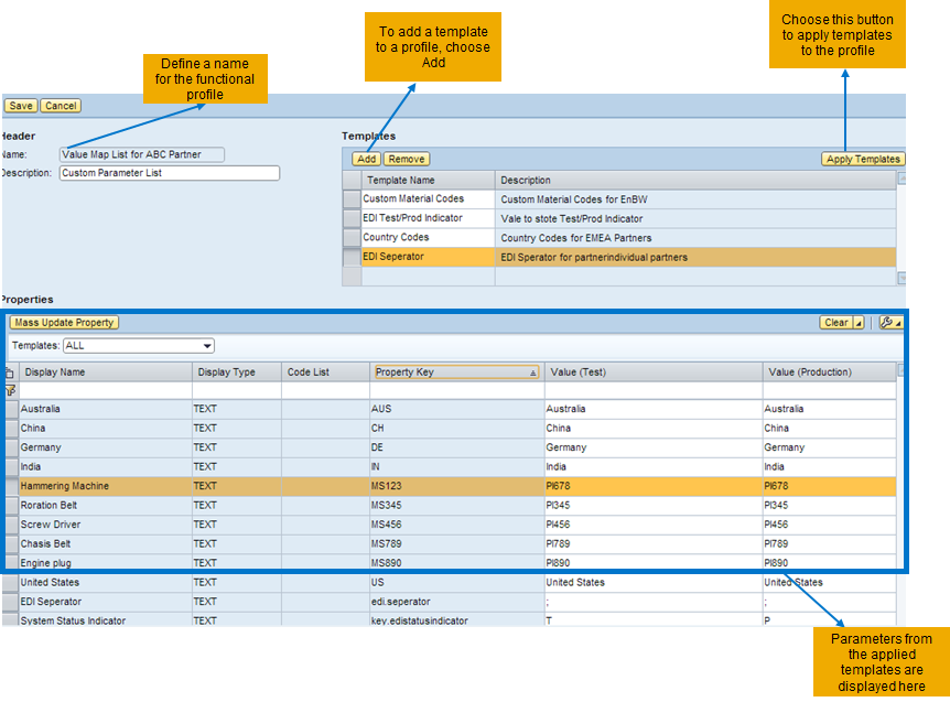 trading partner management part 3 functional profile sap blogs