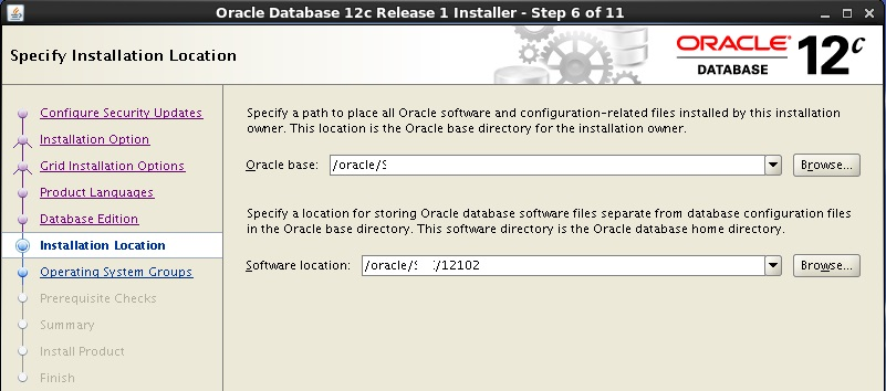 oracle 11g to 12c upgrade steps manually