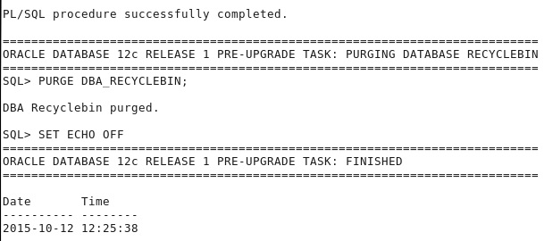 SAP ORACLE UPGRADE STEPS FROM 11g TO 12c FOR SAP SYSTEMS ON