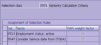 Seniority date calculator