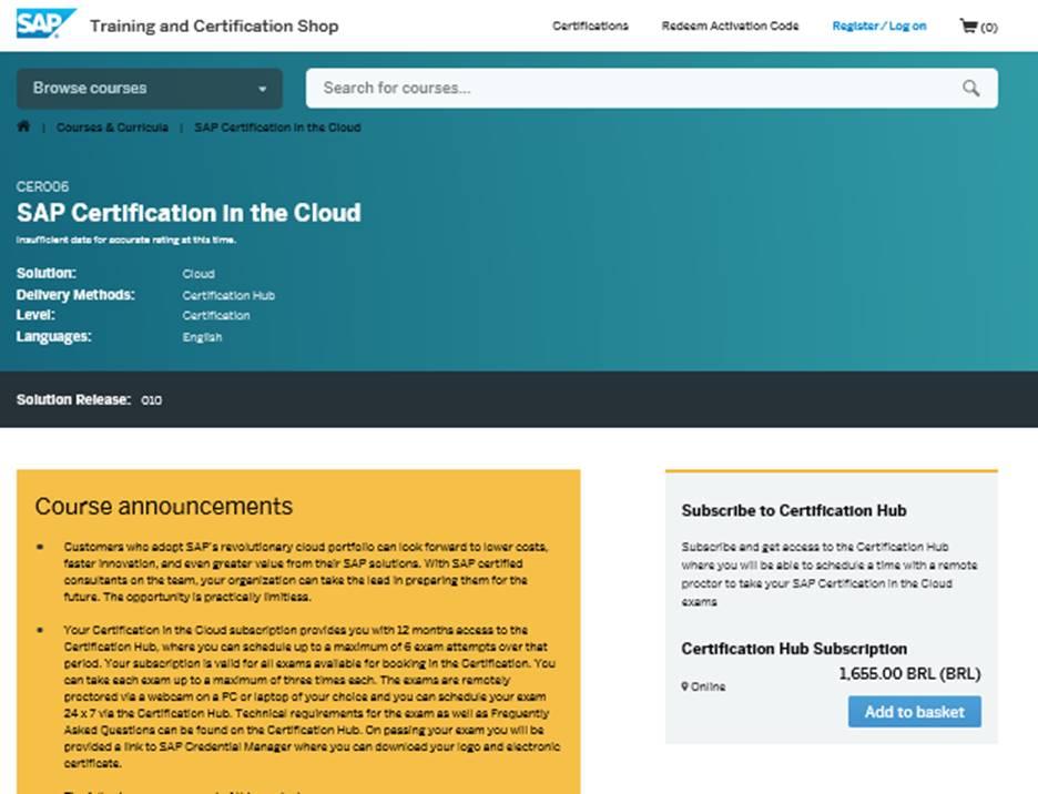 C4C Certification   SAP Blogs