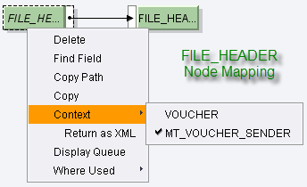 flat file to deepxml using standard fcc and message mapping part 1