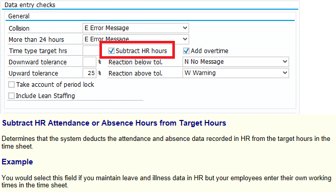 sap ess record working time understanding hr enabled cats sap blogs