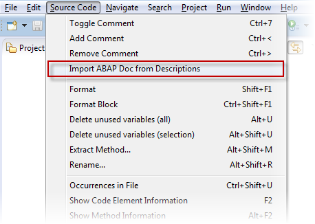 New ABAP Doc Features with NetWeaver 7 5 | SAP Blogs