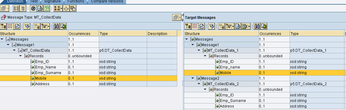 Simplest way to get Message Mapping in Excel Sheet | SAP Blogs
