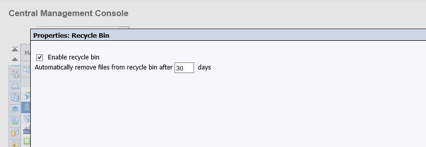 Recycle bin - why default disabled.PNG