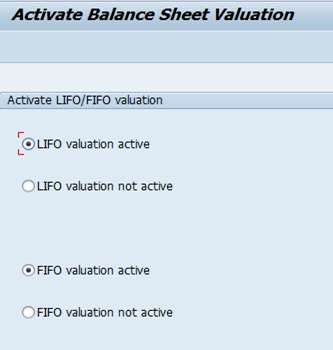 SAP Inventory Valuation through FIFO | SAP Blogs