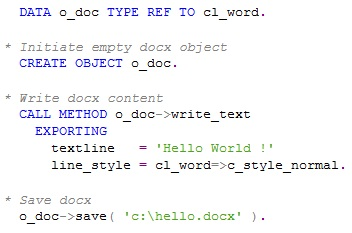 Generate DOCX file in ABAP | SAP Blogs
