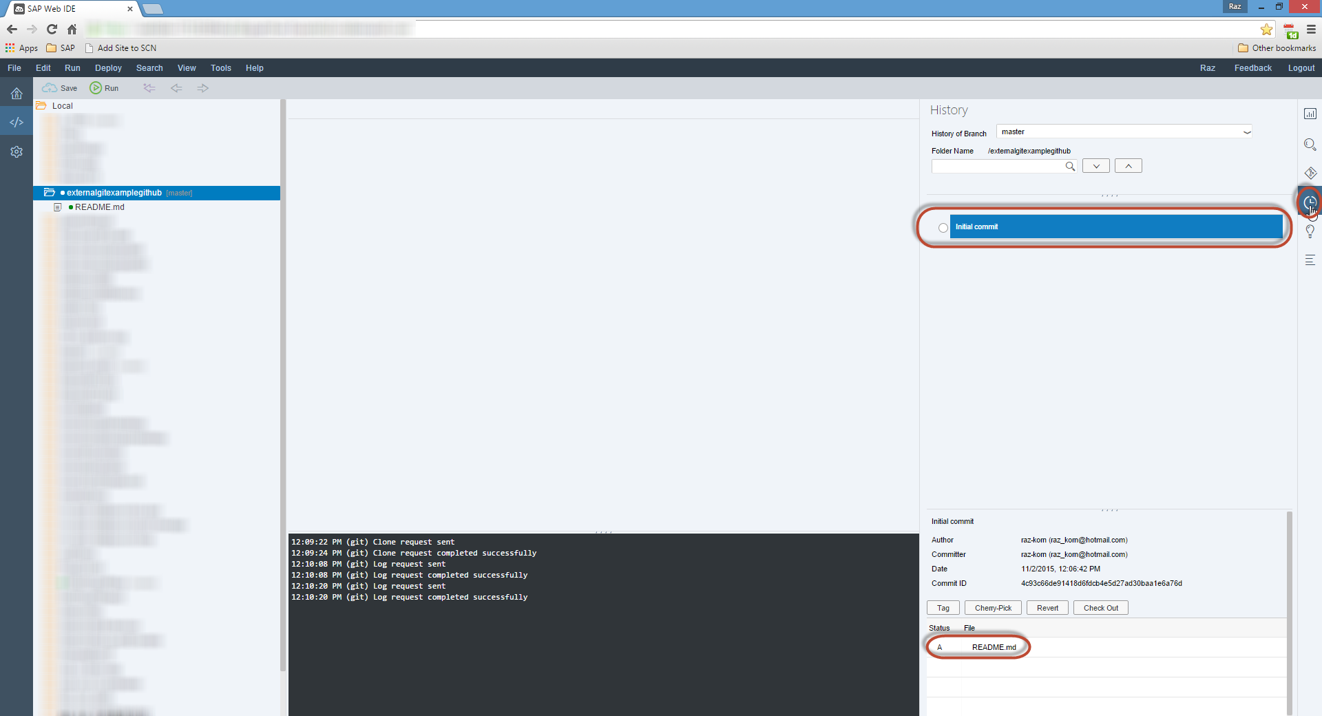 Want to use GitHub as your Project Repository with SAP Web IDE