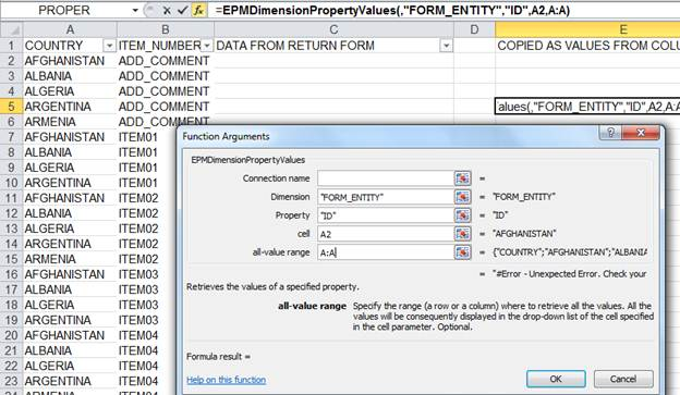 how to create input form in bpc 10
