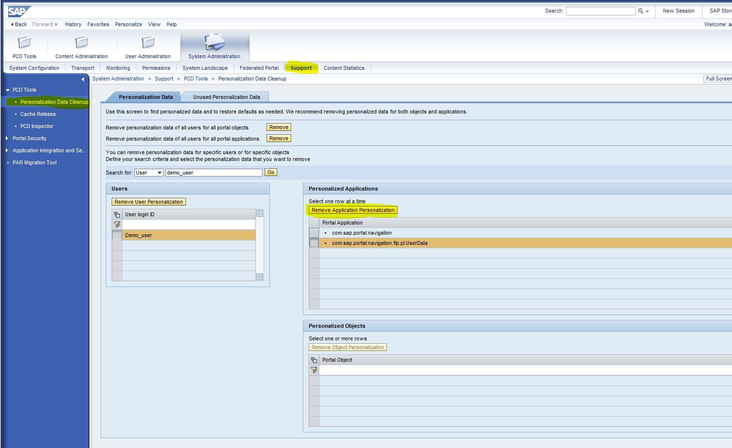 Sap Netweaver Portal App