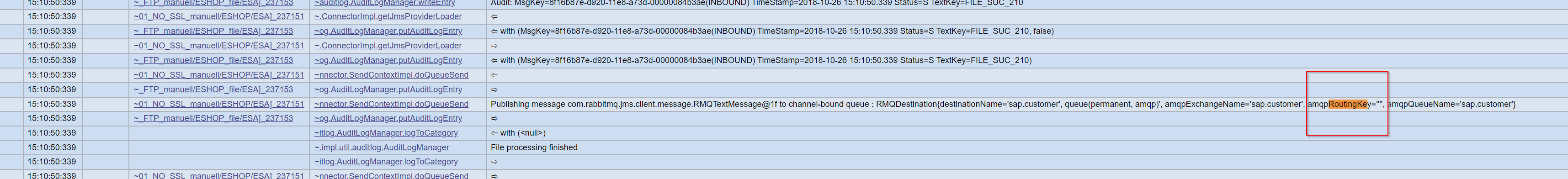 Integration of SAP PI/PO with RabbitMQ AMQP Broker via JMS